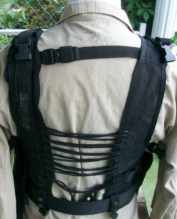 American Body Armor Black Modular Vest 00355