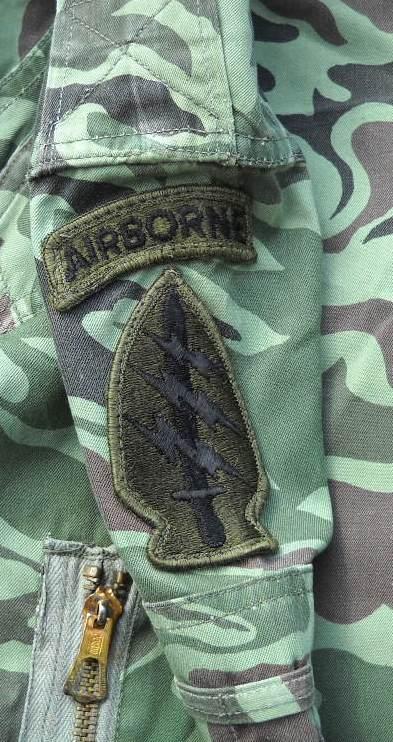 Unusual US Special Forces Advisors Uniform - South Korean Wave/Noodle Pattern 00413