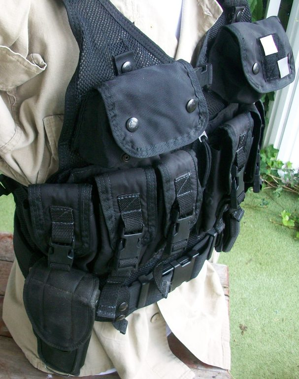 American Body Armor Black Modular Vest 00448
