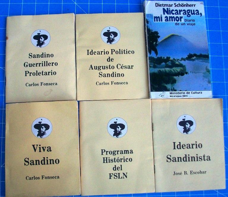 1980's Nicaraguan FSLN Propaganda Booklets 00459