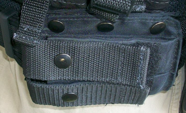 American Body Armor Black Modular Vest 00538