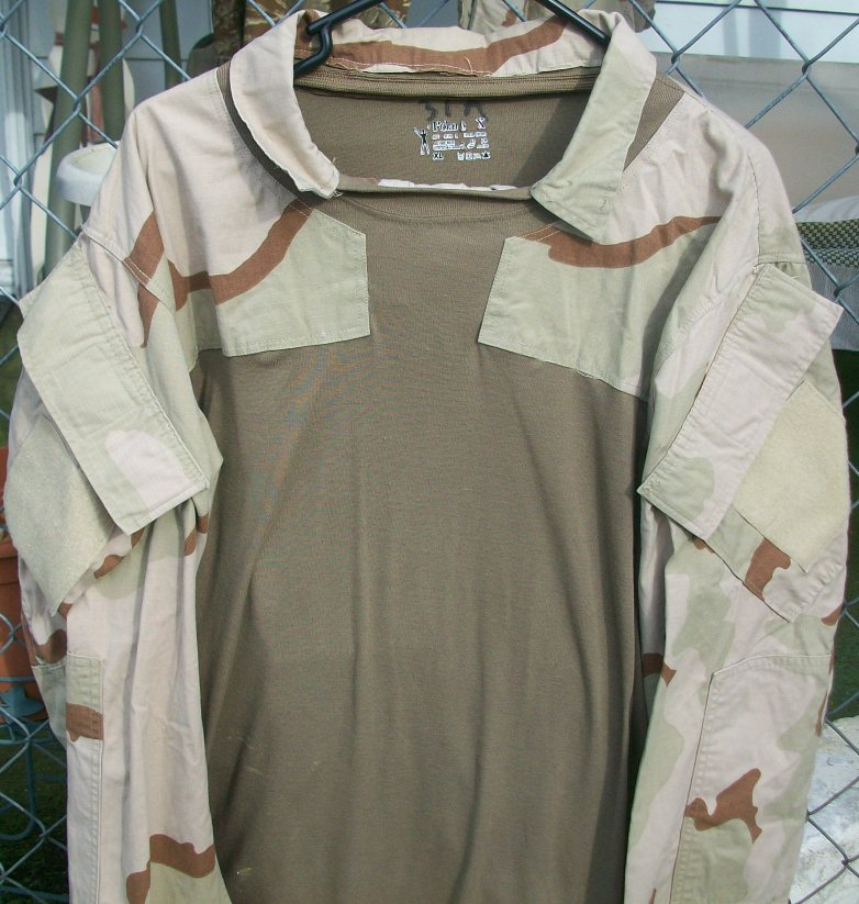Desert Combat Shirt - 3rd Special Forces Group 00612