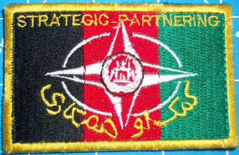 Strategic Partnering Afghanistan patch 00645