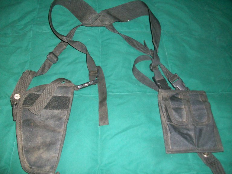 Afghan Shoulder Holster 01613
