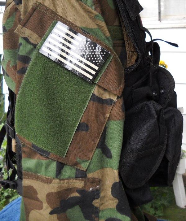 Afghan Black Assault Vest - A. Qahir Brief Case Maker Kandahar Afghanistan 03910