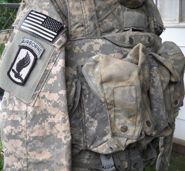 Black Ops Corporation ACU chest rig 04210