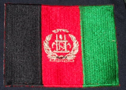 Some Afghanistan Flag Patches 20114212