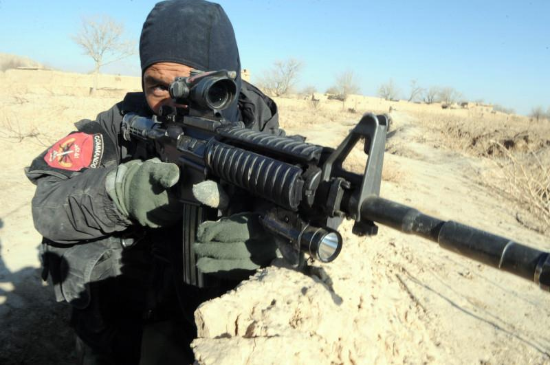 Afghan Commando Black Soft Shell Jacket 37489410