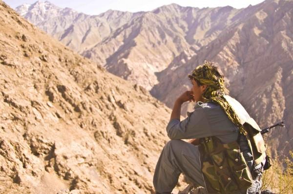 Afghan National Army Woodland Camouflage LBV 9n9_0510