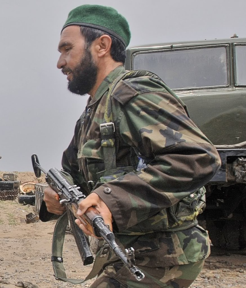 Afghan National Army Woodland Camouflage LBV Afghan11