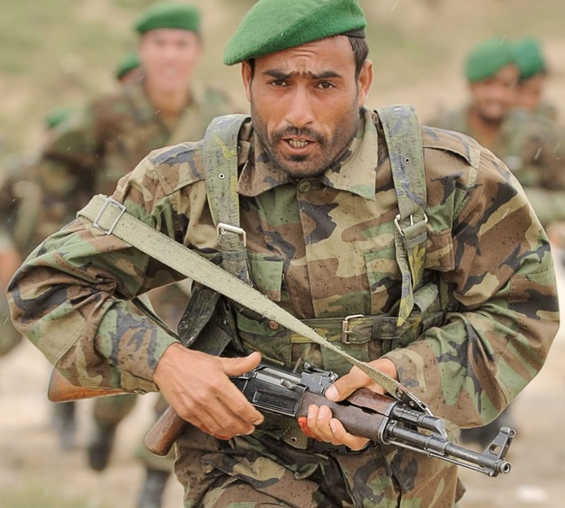 Afghan National Army Woodland Camouflage LBV Afghan12