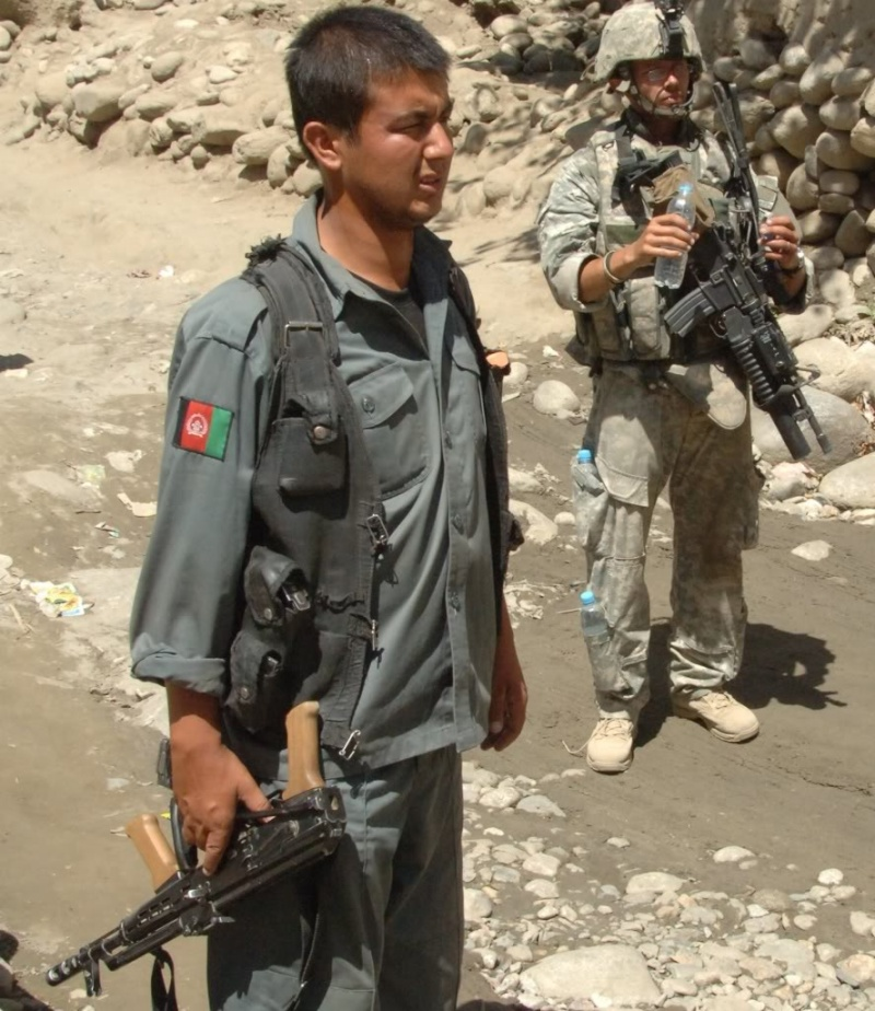 Afghan National Army Woodland Camouflage LBV Afghan13