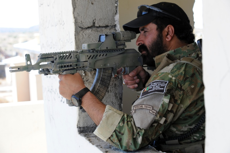 Afghan Border Police wearing Multicam Afghan16