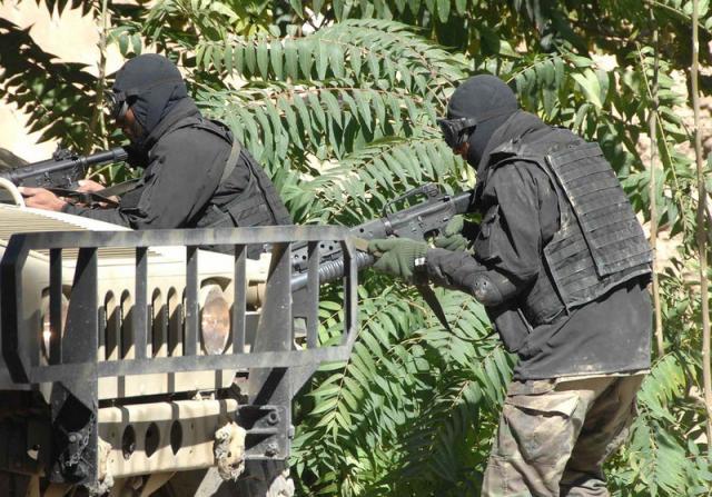 Afghan Commando Black Soft Shell Jacket Afghan25