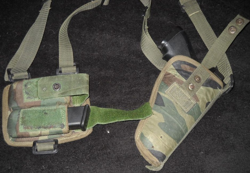 Afghan National Army Woodland Shoulder Holster Dscn2416
