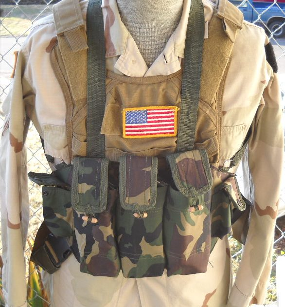 Afghan Made AK Chest Pouch Post-514