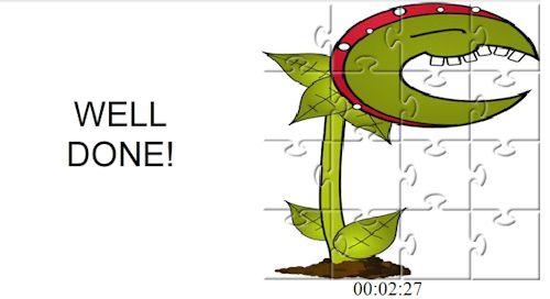 Games144.com - Puzzle Carnivorousplant Jigsaw Jeu_pu10