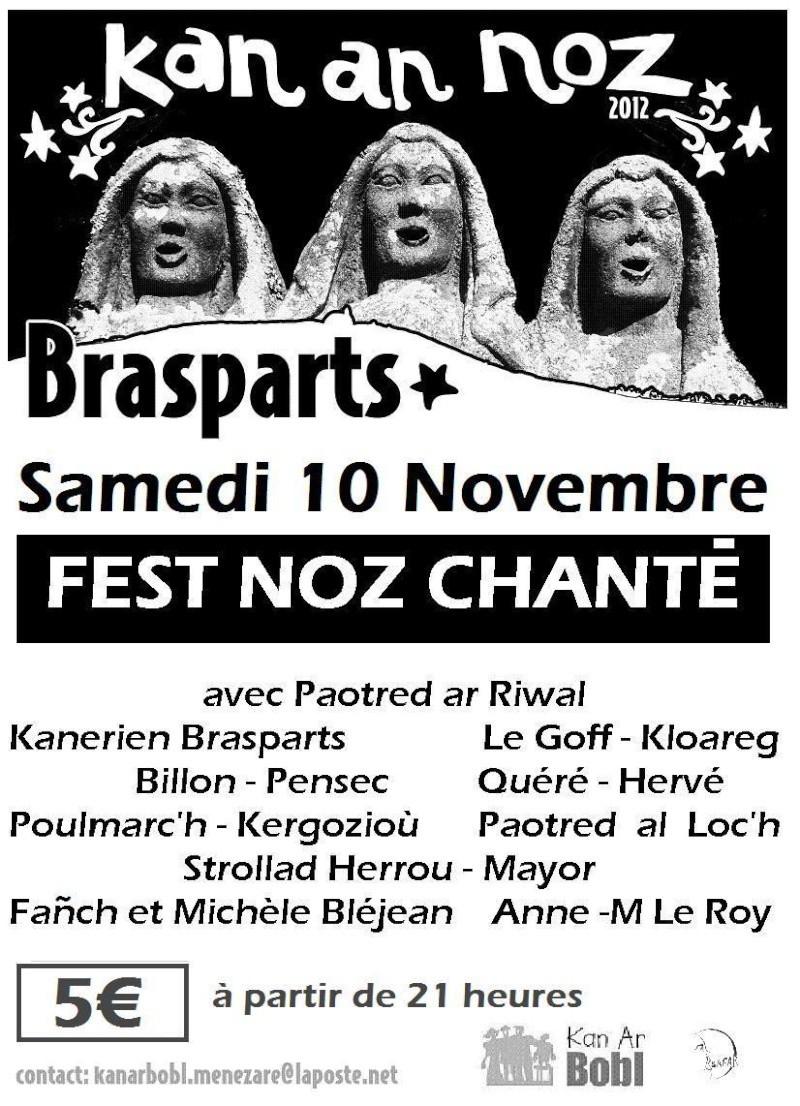 Kan an Noz 2012 à Brasparts Affich21