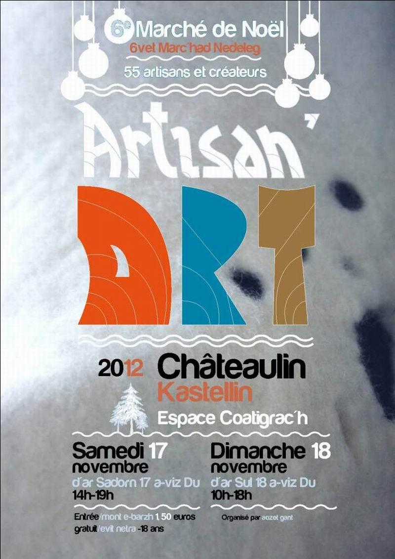 Marché de Noël à Châteaulin les 17 et 18 novembre 2012 Artisa10