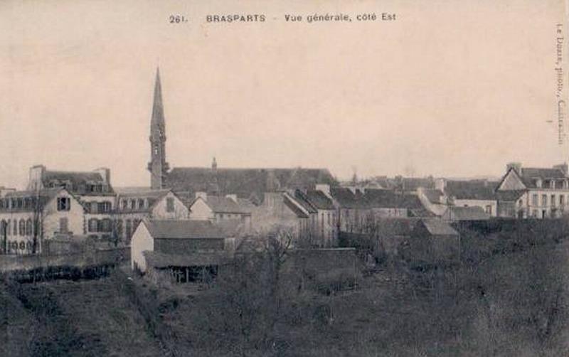 """""""Salut à Brasparts"""", et """"Brasparts, mon bourg natal"""", deux chansons de Jean Morlec Braspa10"""