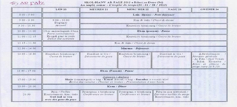 Skol-Hañv Brezhoneg gant Ar Falz (20-24 a viz Eost 2012) File0210