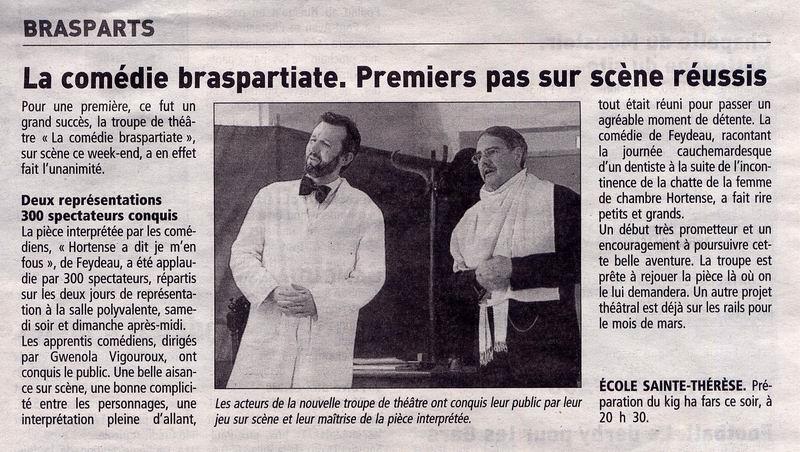 """Théâtre à Brasparts : """"Hortense a dit : Je m'en fous ..."""" La_com10"""