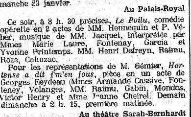 """Théâtre à Brasparts : """"Hortense a dit : Je m'en fous ..."""" Le_sia10"""
