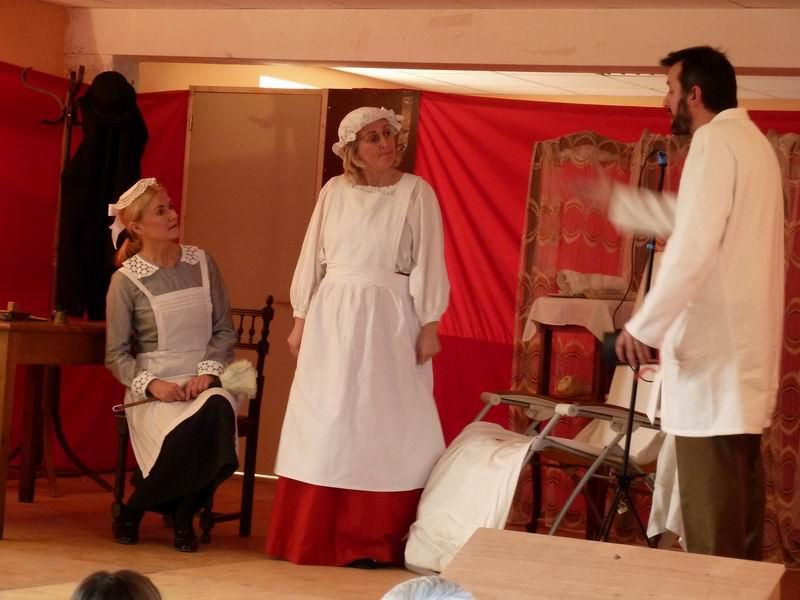 """Théâtre à Brasparts : """"Hortense a dit : Je m'en fous ..."""" P1000219"""