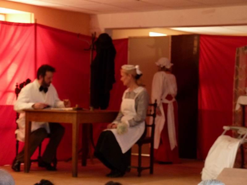 """Théâtre à Brasparts : """"Hortense a dit : Je m'en fous ..."""" P1000220"""