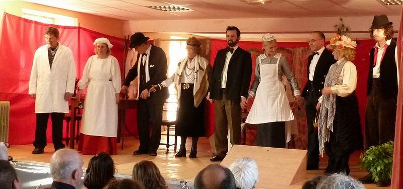 """Théâtre à Brasparts : """"Hortense a dit : Je m'en fous ..."""" P1000226"""