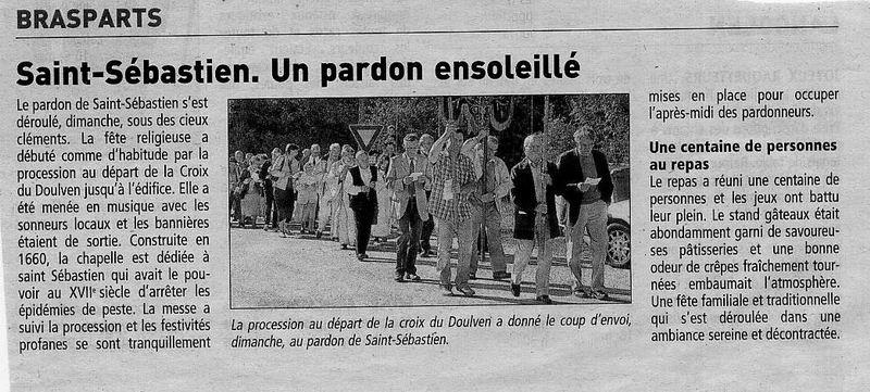 Pardon de Saint Sébastien 2011 Proces10