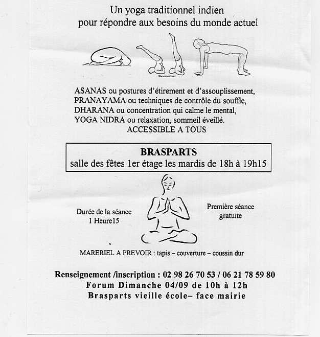 FORUM ACTIVITES LOISIRS - Activités 2011-2012 Yoga10