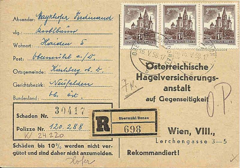"""Bauwerke und Baudenkmäler """"Bautenserie"""" 0100_a25"""