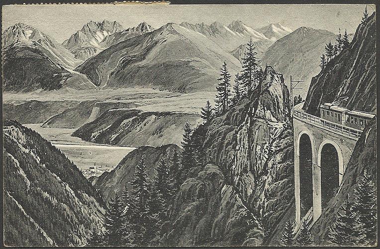 100 Jahre Mittenwaldbahn  Ak_mit10
