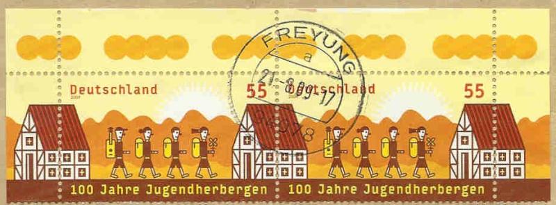 Briefmarken - Briefmarken mit durchlaufenden Markenbild Bild_d10