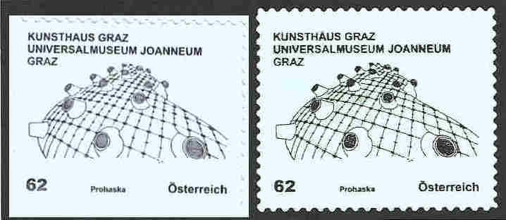 Dauermarkenserie Kunsthäuser ab Mai 2011 Dauers12