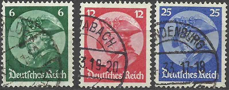 Deutsches Reich April 1933 bis 1945 Mi_47911