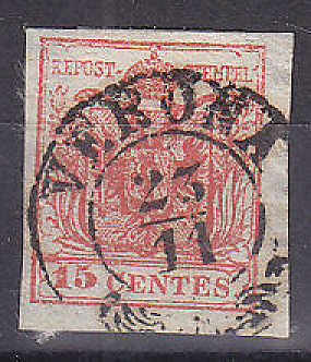Hilfe gesucht : Lombardei und Venetien 1850 30 Centesimi Verona10