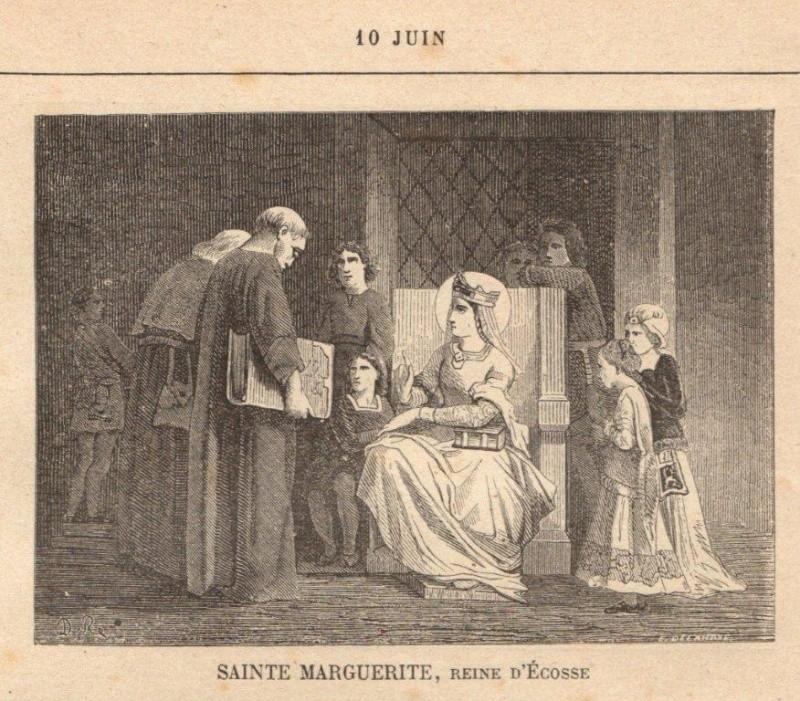 SAINTE MARGUERITE,  REINE D'ÉCOSSE (10 JUIN) Sainte14