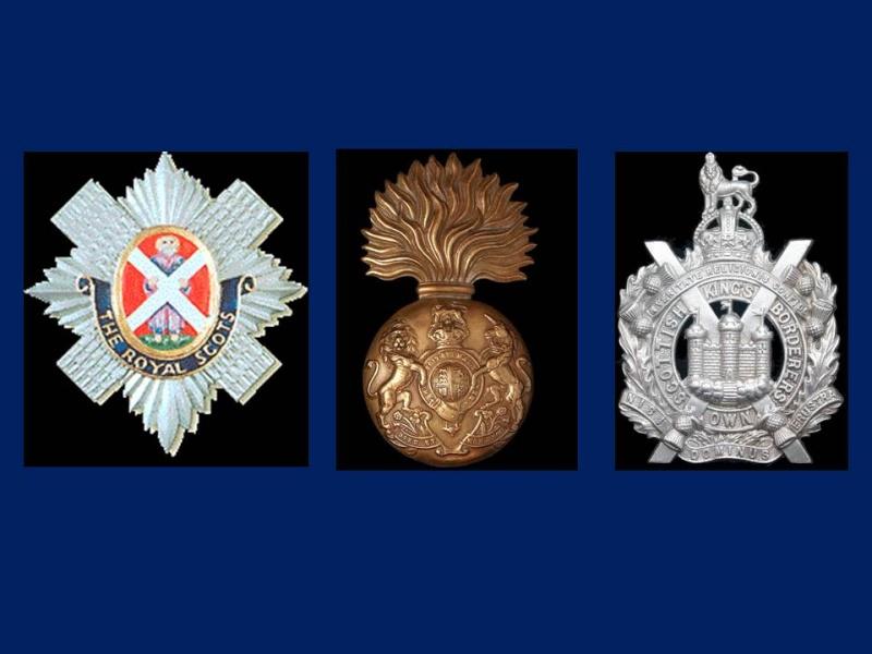 Insignes Ecossais Seconde Guerre mondiale Prasen10