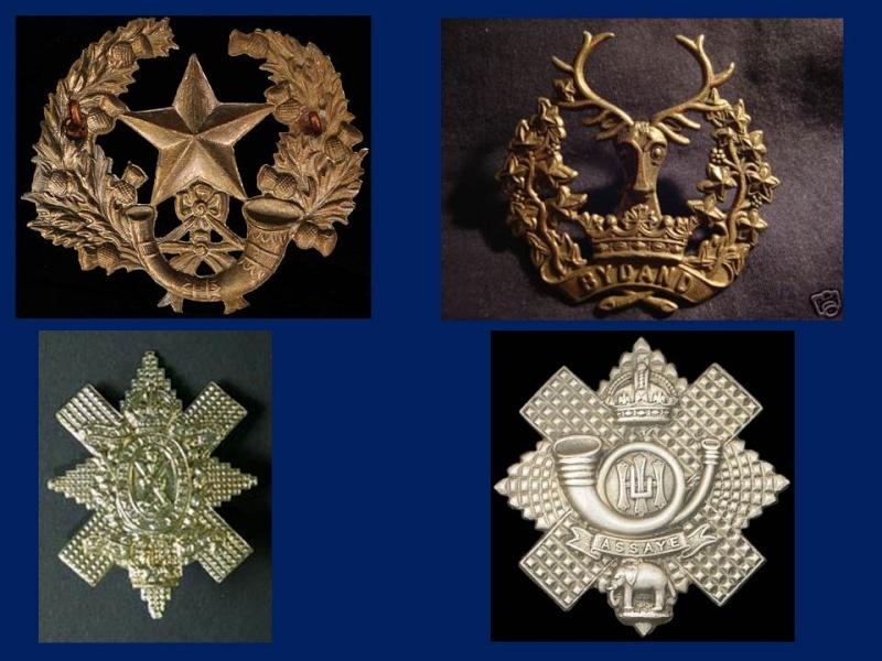 Insignes Ecossais Seconde Guerre mondiale Prasen11