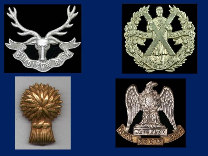 Insignes Ecossais Seconde Guerre mondiale Prasen12