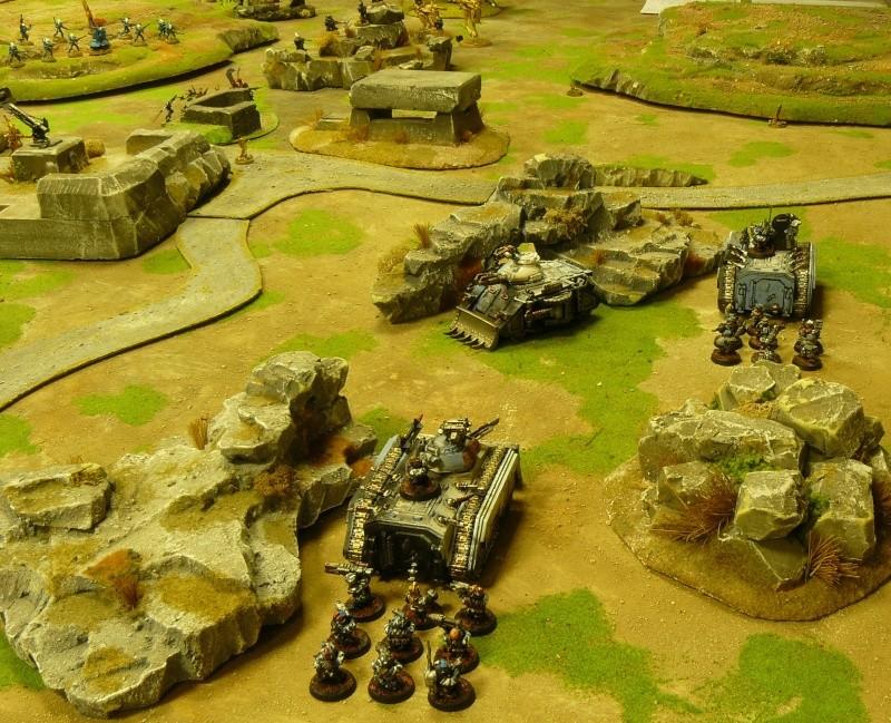 Warhammer 40K. Galerie de Batailles ! P1160931