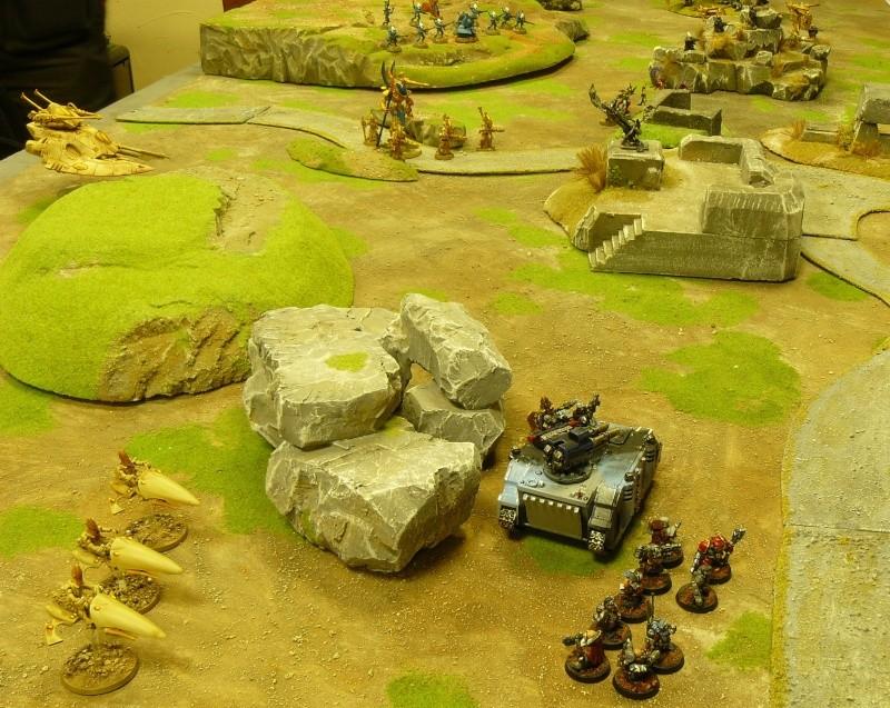 Warhammer 40K. Galerie de Batailles ! P1160932