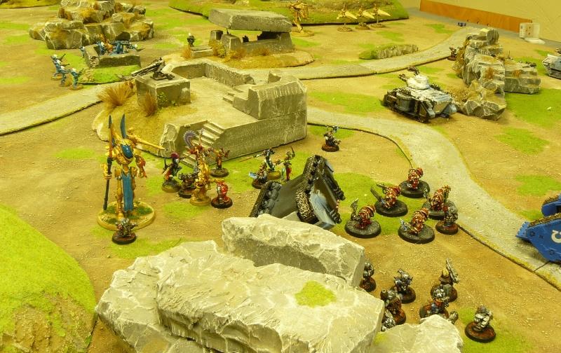 Warhammer 40K. Galerie de Batailles ! P1160939