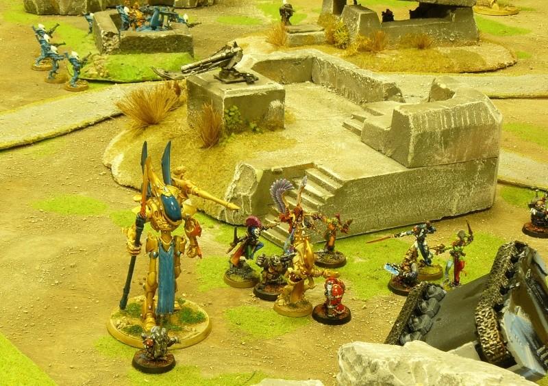 Warhammer 40K. Galerie de Batailles ! P1160940