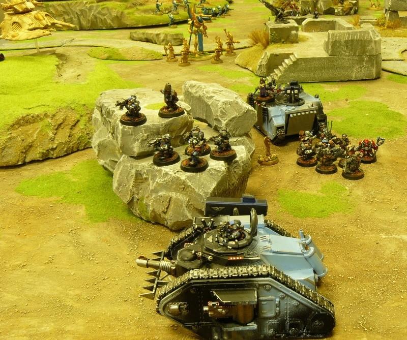 Warhammer 40K. Galerie de Batailles ! P1160942