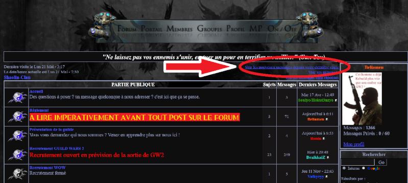 IV- Information relative au Forum Sans_t10