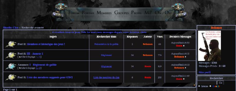 IV- Information relative au Forum Sans_t11