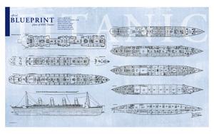 Plan des différents ponts sous forme de poster 01-10010
